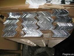 Уголок алюминиевый марка АД31т (6063)