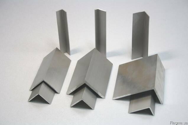 Уголок алюминиевый 10x10x1 мм