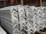 Уголок алюминиевый разносторонний 40x10x2мм АД31 - фото 1