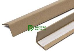 Уголок картонный защитный упаковочный 55х55х2,5 мм, 180см