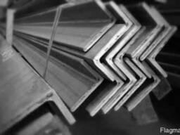 Уголок стальной неравнополочный по стали 3