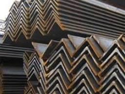 Уголок стальной от 50х4 до125х8
