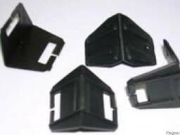 Уголок защитный пластмассовый - фото 1