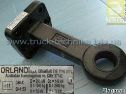 Ухо петля сцепного устройства V. Orlandi0 FI50 mm