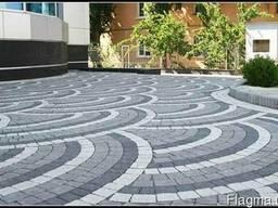 Укладка бетонной,гранитной и базальтовой брусчатки