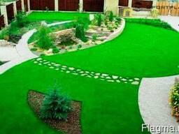 Укладка искусственной травы, искусственного газона