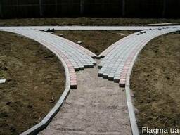 Укладка тротуарной плитки (мощение фэм)