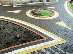 Укладка тротуарной плитки. Полный комплекс работ в Херсоне