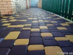 Укладка тротуарной плитки: Старый город, Кирпичик, Ромб и т.