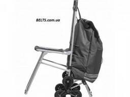 Украина (Киев) .Сумка тележка со стулом (6 колес) The cart b