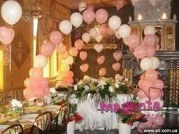 Украшение воздушными шарами, воздушные шары
