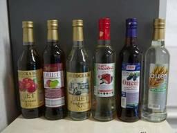 Уксус натуральный спиртовой : 6%, 9%, 12%, яблучный, бальзамик