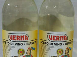 Уксус винный белый 1л