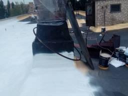 Гідроізоляція рубероїдних дахів, фундаментів, погребів