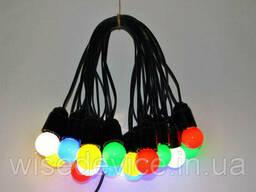 Гирлянда светодиодная уличная разноцветная RLG 15 м 31 лампа (RLG-VM-015-031)