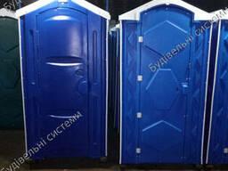 Уличная туалетная кабина пластиковая