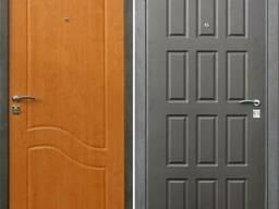 Уличные металлические двери