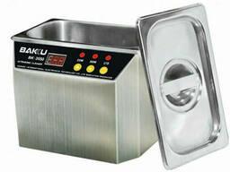 Ультразвуковая ванна Bakku BK3550 Два режима работы (30W и 50W), металлический корпус. ..