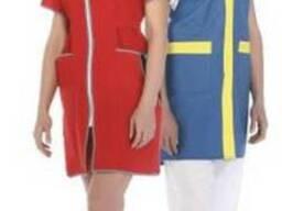 Униформа для продавцов,Халат женский рабочий
