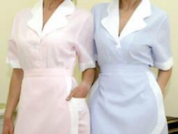 Униформа для горничных, обслуживающего персонала, уборщиц