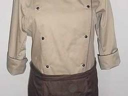 Униформа повара, фартук, шапочка и китель