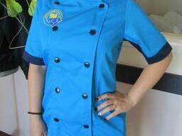 Униформа повара, пошив одежды для кулинарии, официантов и тд