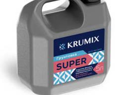 Универсальная грунтовка акриловая Krumix Super,для. ..