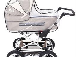 Универсальный дождевик для детской коляски