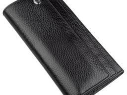 Универсальный кошелек-визитница ST Leather Черный, Черный. ..