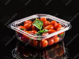 Упаковка для салатов безреберная с совместной крышкой. ..