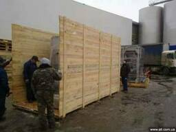 Упаковка грузов в деревянную или фанерную тару
