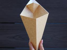 Упаковка конус для блинов