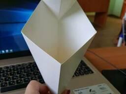 Упаковка конверт-конус с соусницей