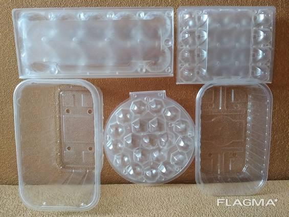 Упаковка на перепелиные куриные яйца. Лоток для ягод пинетки