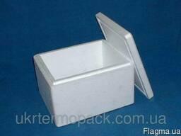 Упаковка, тара, термоконтейнеры из пенопласта пр-во