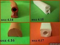 Уплотнитель из термостойкой силиконовой резины