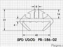 Уплотнитель ПР-186-02