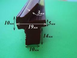 Уплотнитель рамки вакуумного пресса 10х14х19 мм