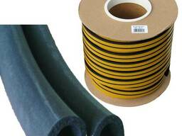 Уплотнитель резиновой -D -профиль 12 * 10 мм