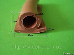 Уплотнительный профиль термостойкий из силиконовой резины