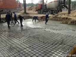 Упрочнение бетонных полов по американской технологии.