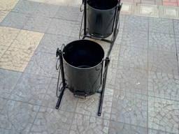 Урна для мусора в парк (мусорный ящик)