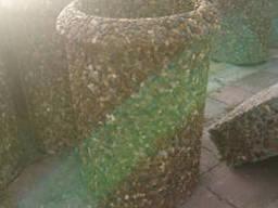 Урна бетонная Венеция 410х560 с вымытова бетона с...