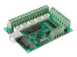 USB интерфейсная плата зеленая