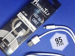 USB кабель USB кабель Avantis Fast AV-100 1. 5m Lightning