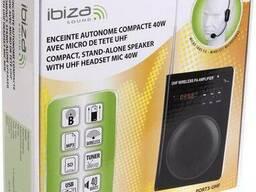 Усилитель голоса (портативный громкоговоритель) Ibiza PORT3-