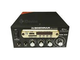 Усилитель звука Boschmam BM-800BT USB, FM. Bluetooth