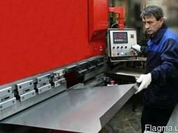 Услуга по гибке листового металла на станке с ЧПУ