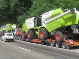 Услуги аренда бункера перегрузчика зерна с трактором