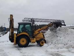 Услуги аренда экскаватора, трактора, уборка снега - фото 3